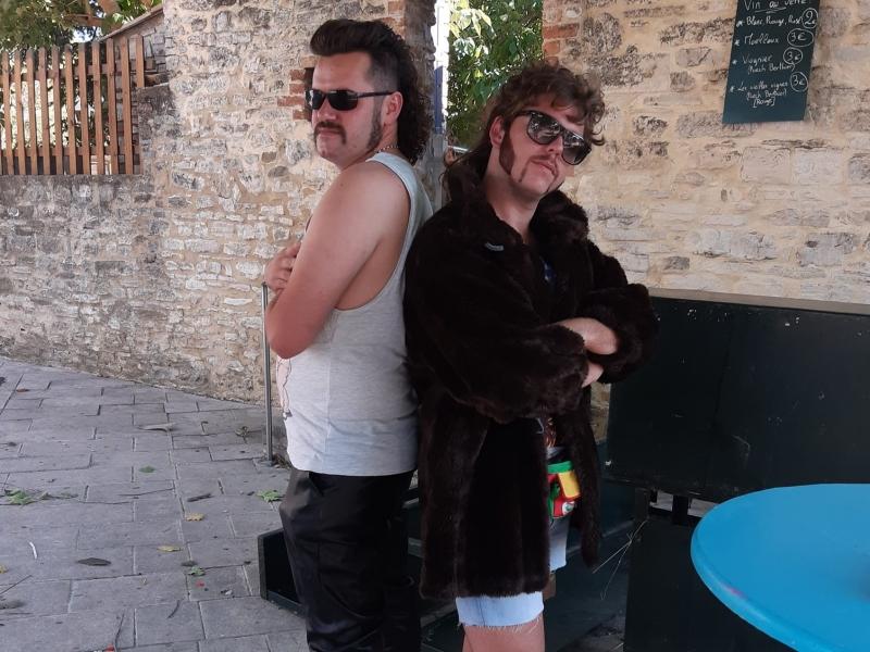 Robin & Julien cut
